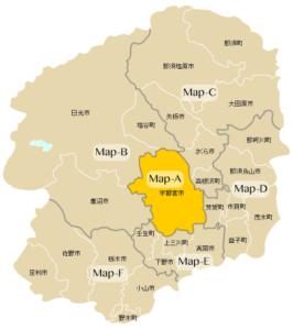 Map-A:宇都宮市